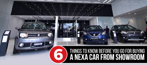 Things to do before buying a Nexa Car from Showroom