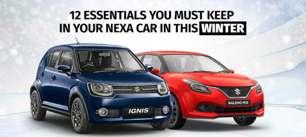 12 Essentials You Must Keep in Your Nexa Car in this Winter